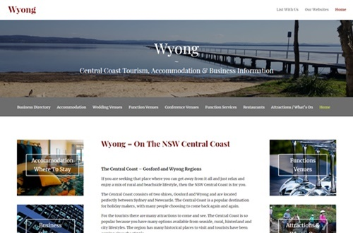 Central Coast Business Our Websites